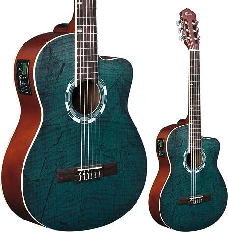 Lindo LDG-960CEQ - Guitarra electroacústica de concierto (con ...