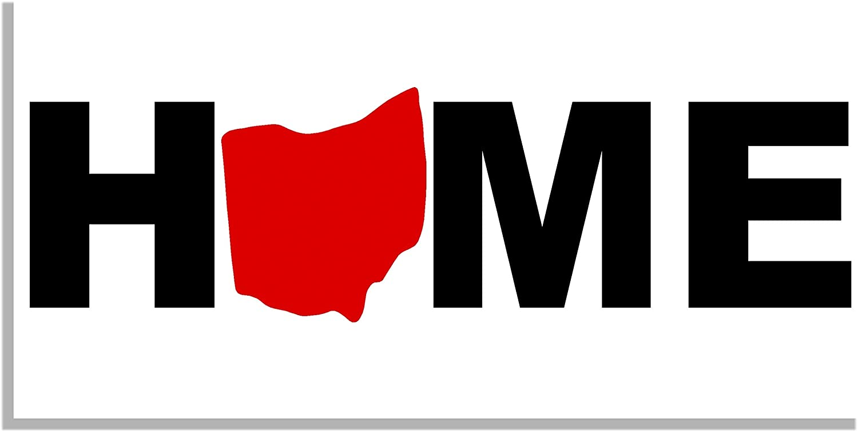 Ohio Home State Bumper Sticker - Quote Me Printing