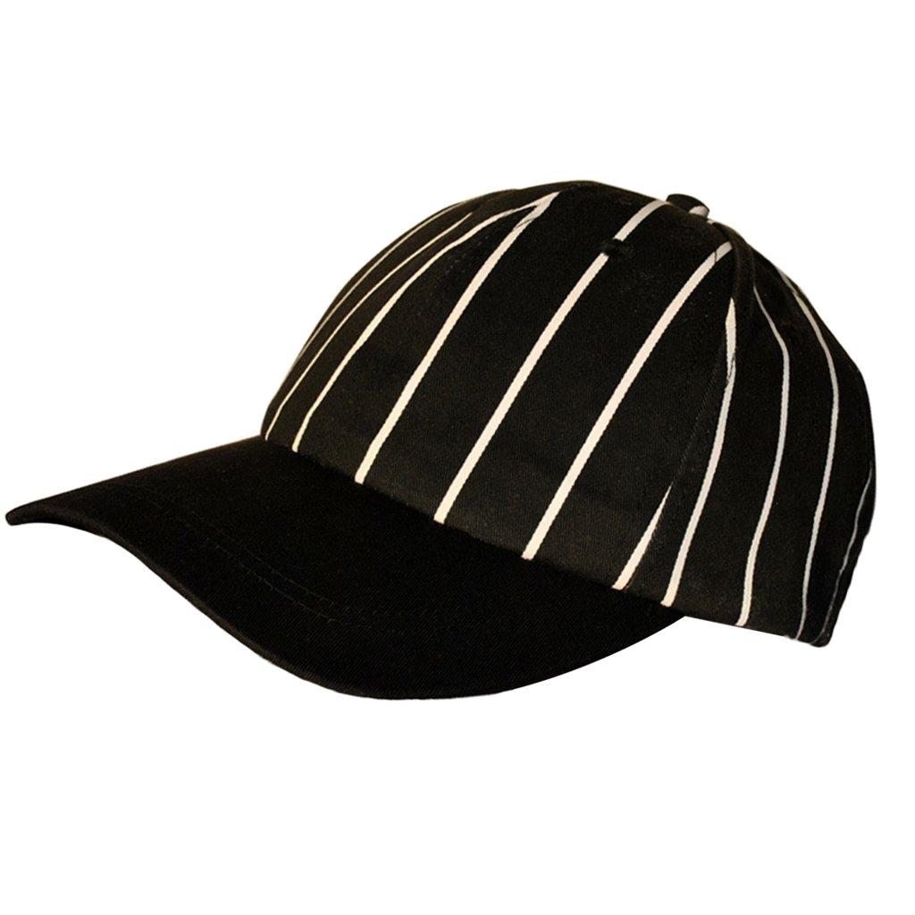 MagiDeal Cappello Berretto con Visiera per Chef Vestiti Cappellino Cucina per Bar Ristorante - Bianche e Rosse