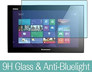 """Synvy Anti Blue Light Tempered Glass Screen Protector for Lenovo thinkvision LT1423P 13.3"""" Display Monitor Visible Area 9H Protective Screen Film Protectors (Not Full Coverage)"""