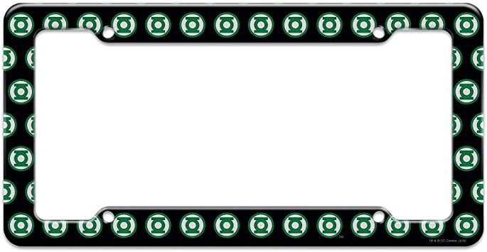 Graphics and More Green Lantern Blackest Night Red Lantern Logo Novelty Metal Vanity Tag License Plate