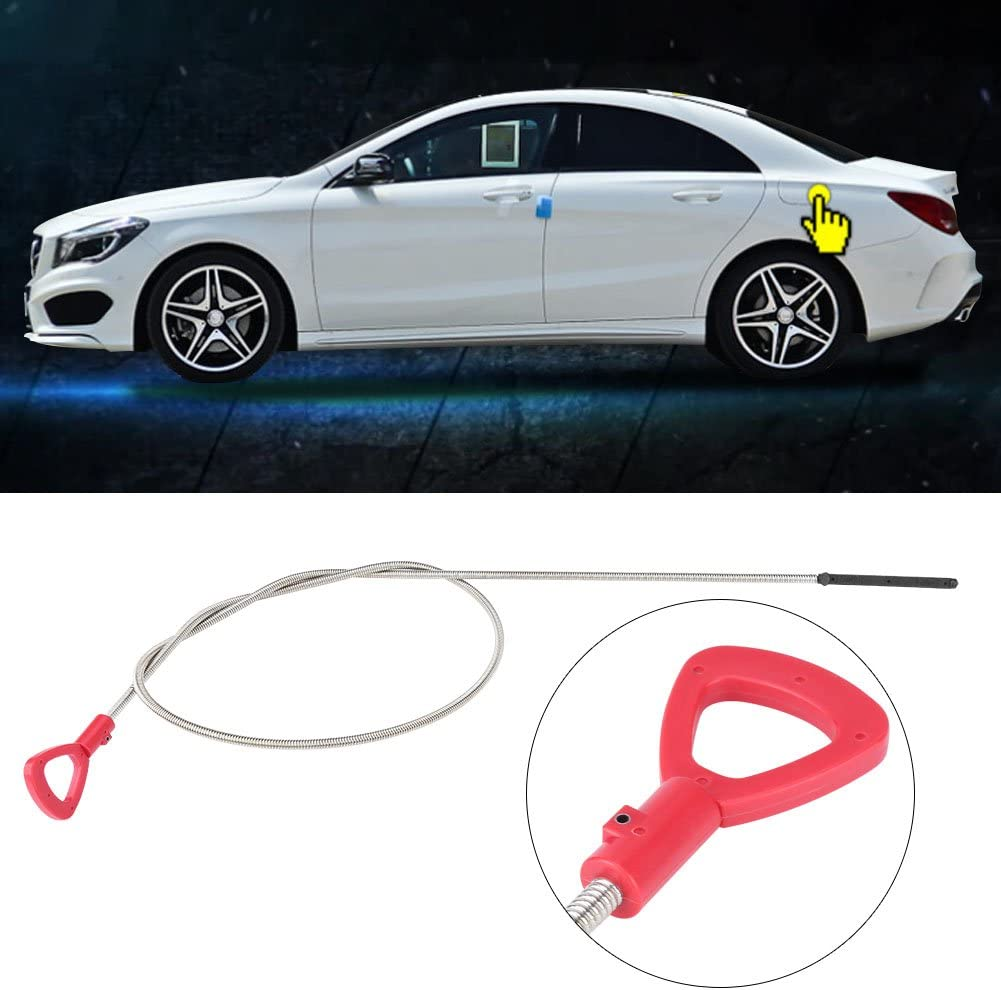 Qiilu Car Oil Dipstick Transmission Fluid Oil Level Dipstick Tube Automatic Tool for 1405891521