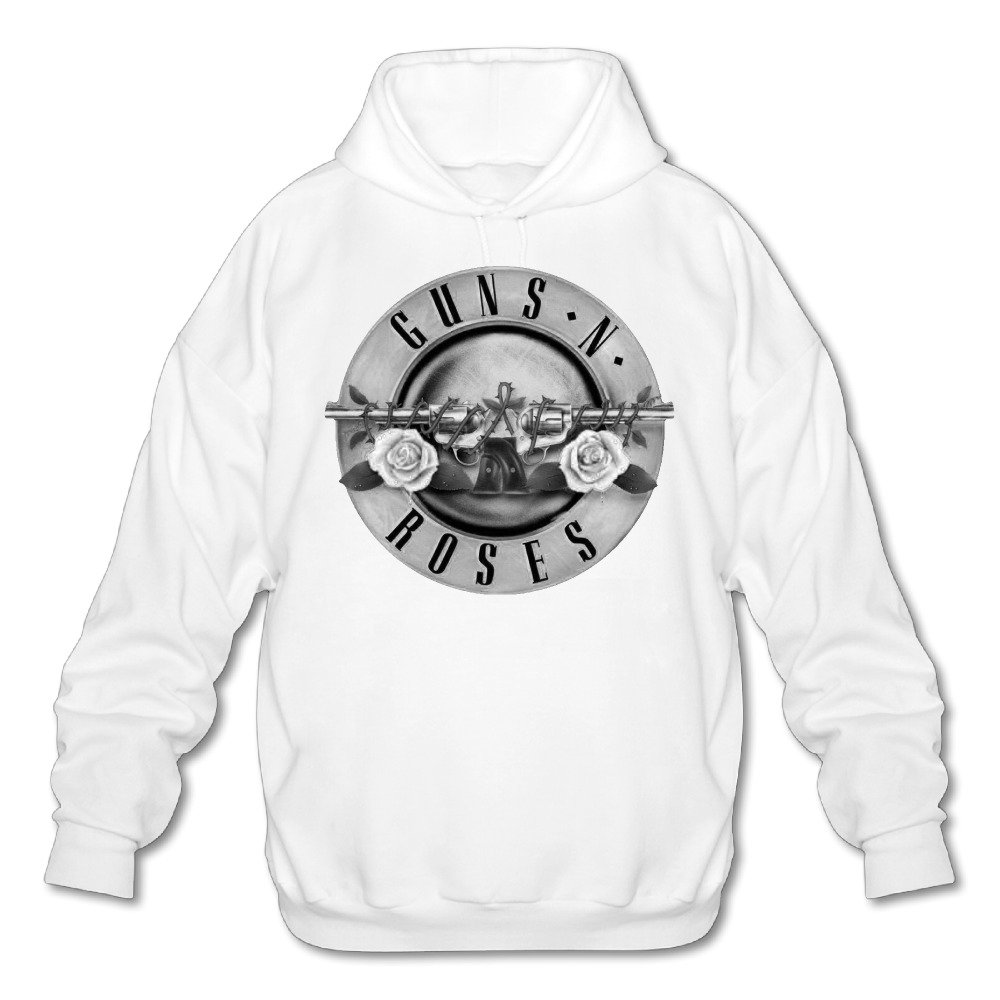 Guns N Roses Logo Mens Hoodie