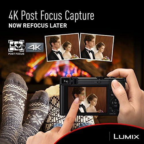 Panasonic Lumix 4K Digital Camera with 30X LEICA DC VarioELMAR Lens F3364 18 Megapixels and High