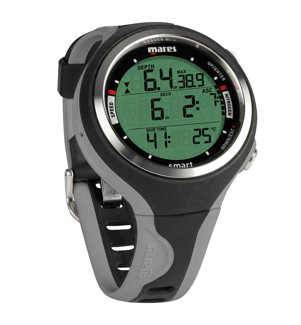 大量入荷 Mares Smart Wrist Diveコンピューター Smart、ブラック Wrist/グレー Mares B00NH1P69O, 当社の:2a276838 --- svecha37.ru
