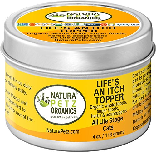 Natura Petz Organics Life's an Itch Allergy Flavored Meal Topper for Cats by Natura Petz Organics