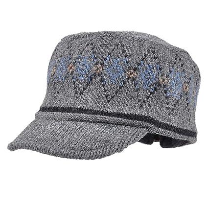 abc14d00f Amazon.com: Jenify Men Slouchy Cap,Winter Warm Wool Baggy Slouchy ...