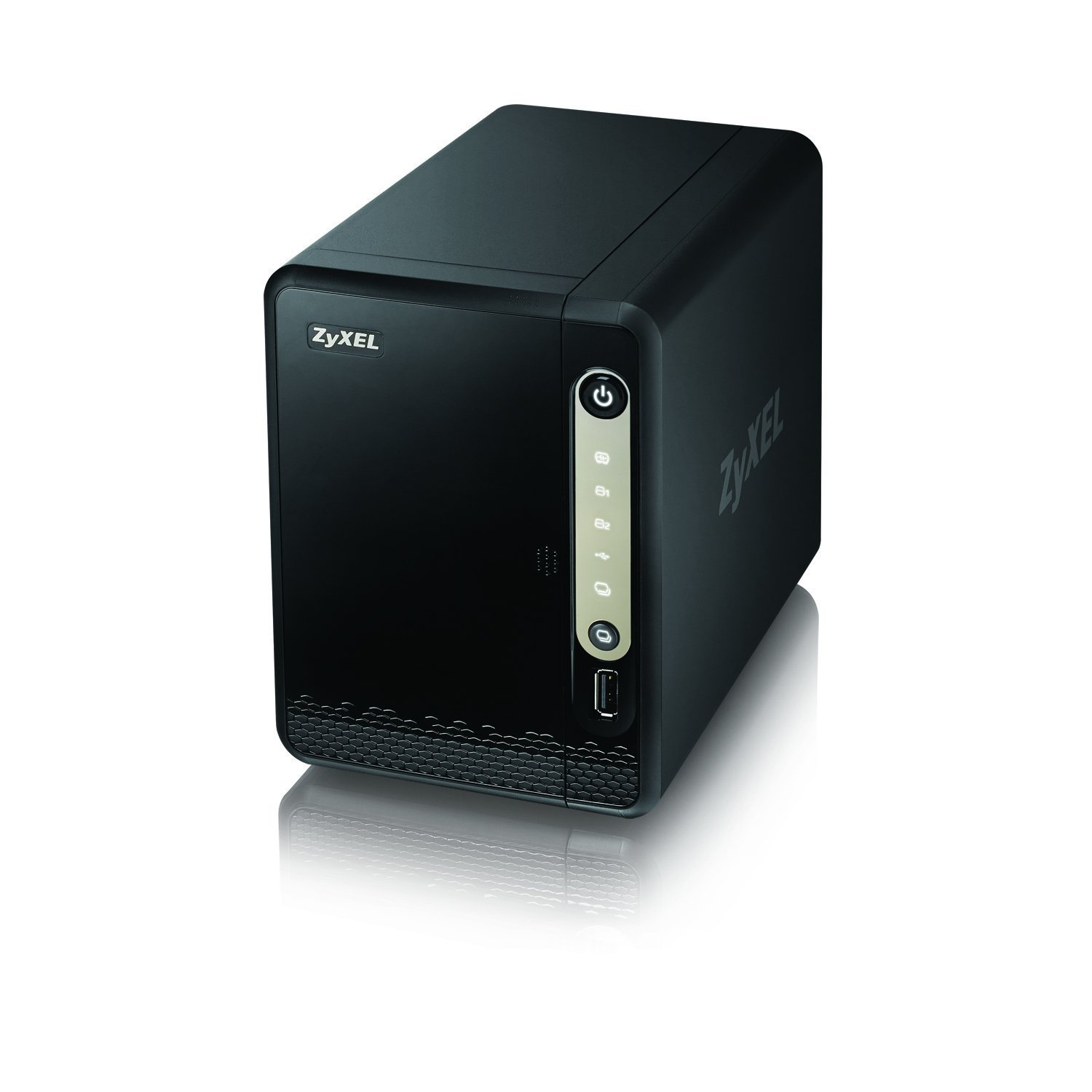 Zyxel Personal Cloud Storage [2-Bay] for Home with Remote Access and Media Streaming [NAS326]