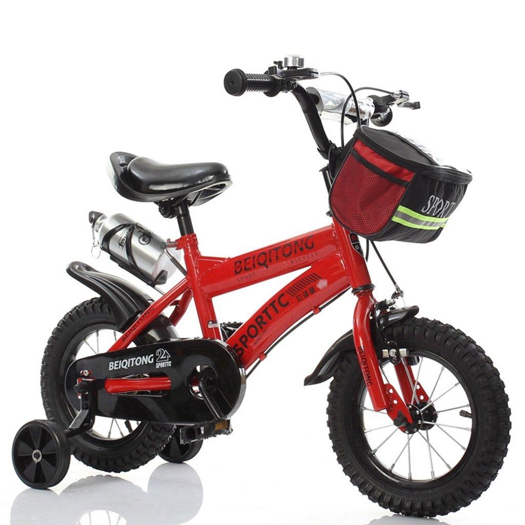 CSQ 赤ちゃんの自転車、少年の自転車の少女の自転車の自転車自転車の自転車の自転車の車輪の直径30-42CM 子供用自転車 (色 : 赤, サイズ さいず : 121CM) B07DXH2L1T 121CM|赤 赤 121CM
