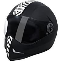 Steelbird SB-50 Adonis Dashing Black with Plain Visor,600mm