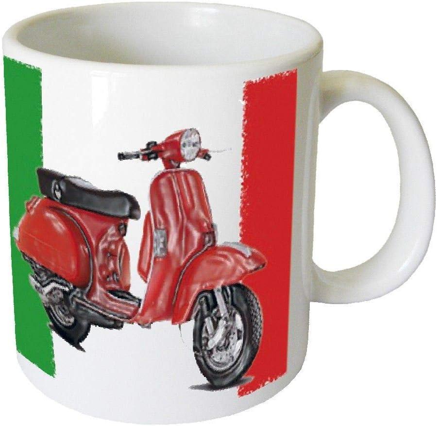 ITALIANO Scooter 2Taza by CBK