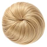 OneDor Synthetic Hair Bun Extension Donut Chignon Hairpiece Wig (27/613)