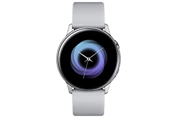"Samsung Galaxy Watch Active Reloj Inteligente Plata SAMOLED 2,79 cm (1.1"")"