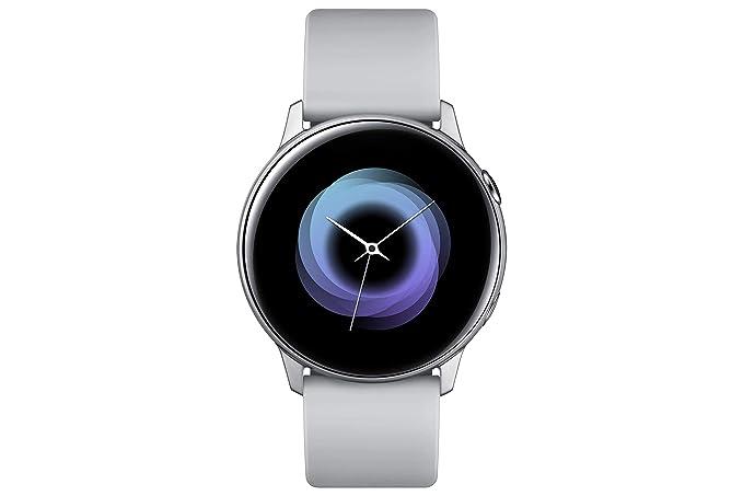 Samsung Galaxy Watch Active Reloj Inteligente Plata SAMOLED 2,79 cm (1.1