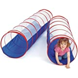 Playhood Kids Tunnel Tent 6 Feet Long Activity For Kids - Blue