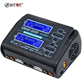 HTRC C240 DUO Dual Multi-Charger AC 150W /DC 240W 10A RC Balance Charger Discharger for LiPo LiHV LiFe Lilon NiCd NiMh Pb Battery