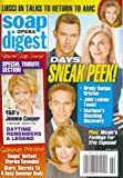 Eric Martsolf, Drake Hogestyn, Deidre Hall, Eileen Davidson, Days of Our Lives, Susan Lucci, Jeanne Cooper Tribute - June 3, 2013 Soap Opera Digest Magazine