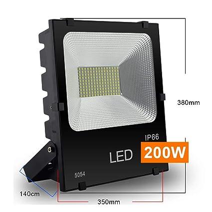 H-XH Exteriores Foco Proyector LED, 50W/100W/150W/200W Baloncesto ...