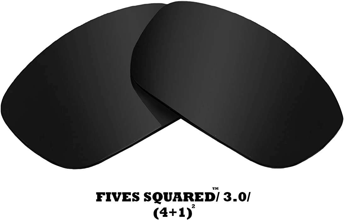 5a5b4b2686 FIVES SQUARED Replacement Lenses by SEEK OPTICS to fit Oakley Sunglasses