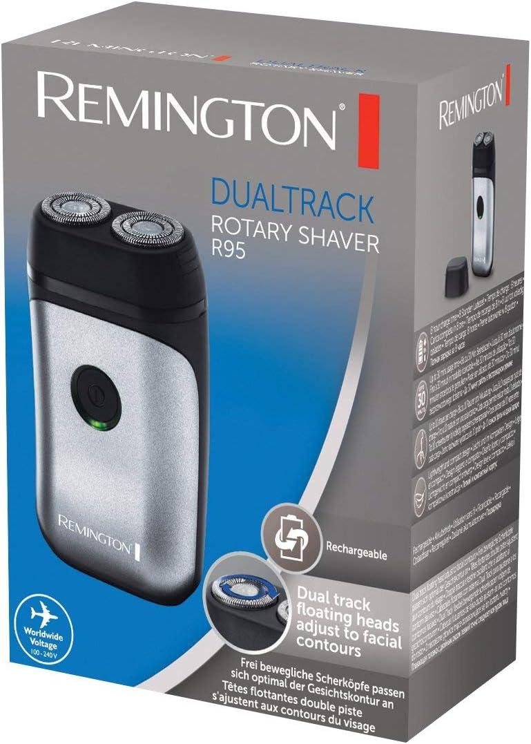 Remington Dualtrack R95 – Afeitadora Rotativa de Viaje, 2 ...