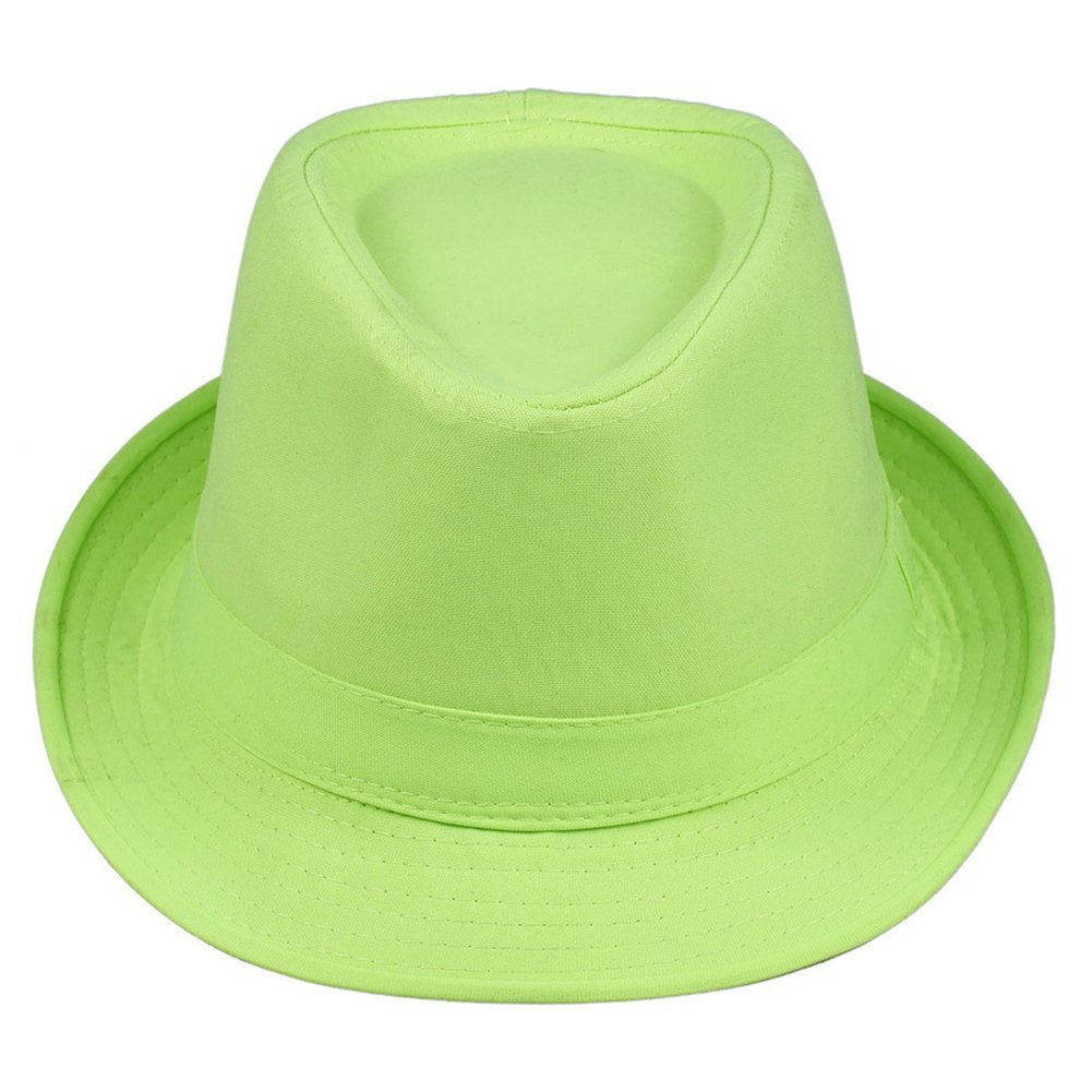 AOBRITON Sun Cap Candy Color Festival Women Hat Party Eveing Hat for Travel Vacation