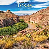 Texas Wild & Scenic 2020 12 x 12 Inch Monthly Square Wall Calendar, USA United States of America Southwest State Nature