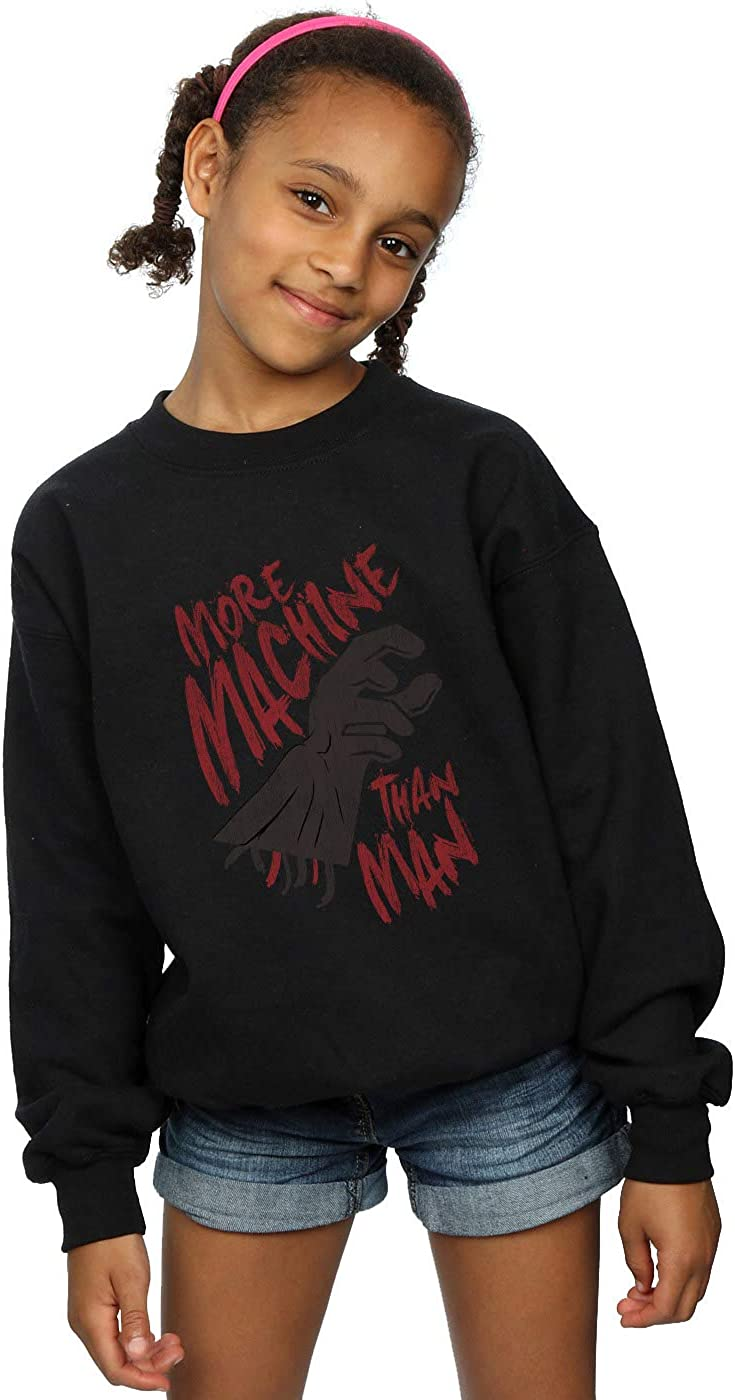 Star Wars Girls More Machine Than Man Sweatshirt