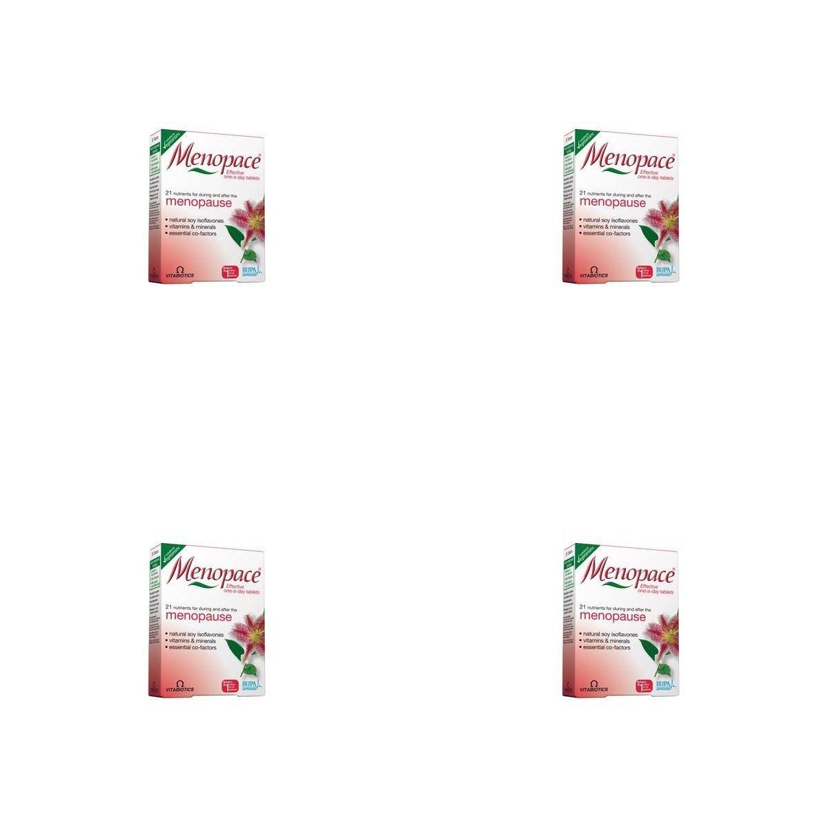 (4 PACK) - Vitabiotics Menopace Plus Tablets | 56s | 4 PACK - SUPER SAVER - SAVE MONEY