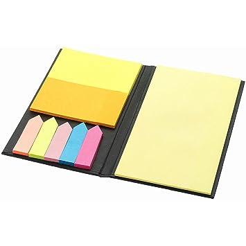 Cartilla con notas adhesivos pequeños Medi grandes Memo ...