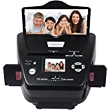 DIGITNOW Photo Scanner 35mm/135slides&Negatives Film Scanner Photo, Name Card, Slides and Negatives to Digital Converter for Saving Films to Digital Files in 4GB SD Card(Included) with Photo Editing