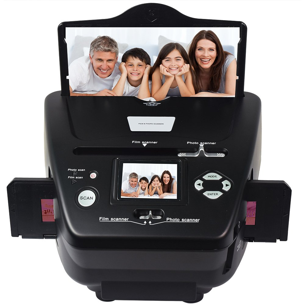 DIGITNOW 5M/10M 35mm Slides&Negatives Film Scanner Photo, Name Card, Slides and Negatives to Digital Converter for Saving Films to Digital Files in SD card(Included) with Photo Editing Software by DigitNow! (Image #1)