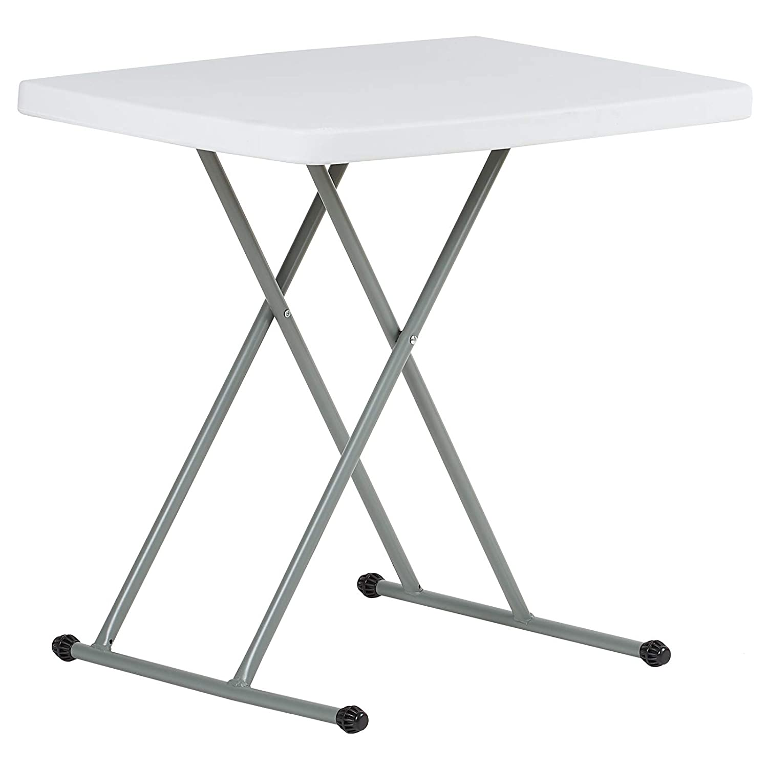 Hartleys 2.5ft Adjustable Height Folding Table - Portable & Wipe Clean