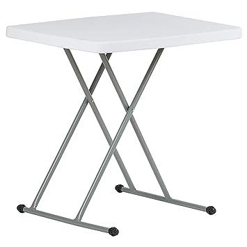 Table Pliante Reglable En Hauteur.Hartleys Table Pliable 2 5ft Hauteur Reglable Portable Facile A Nettoye