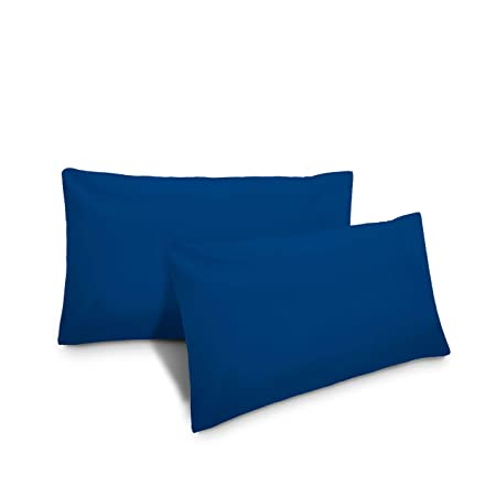Federe Cuscini 40x60.Lumaland Federa Cuscino 40x60 Royal Blu Amazon It Casa E Cucina