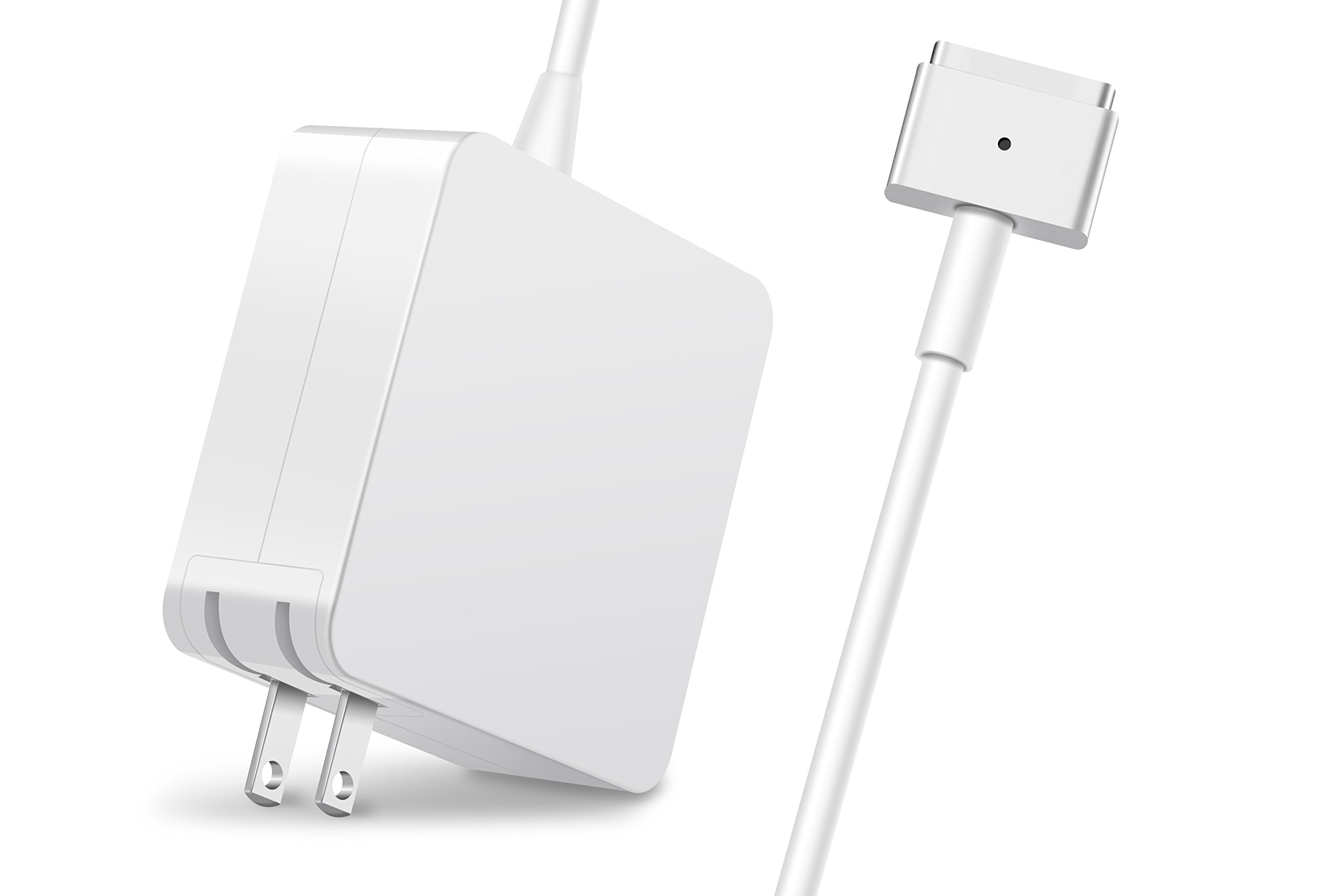 GSNOW MacBook Pro Charger – 60W Magsafe 2 T-Tip Adapter Charger for MacBook Pro 13-inch – After Late 2012