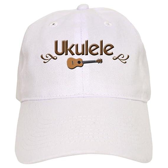 Amazon.com  CafePress - Ukulele Uke Cap - Baseball Cap with Adjustable  Closure b2c4f195c388