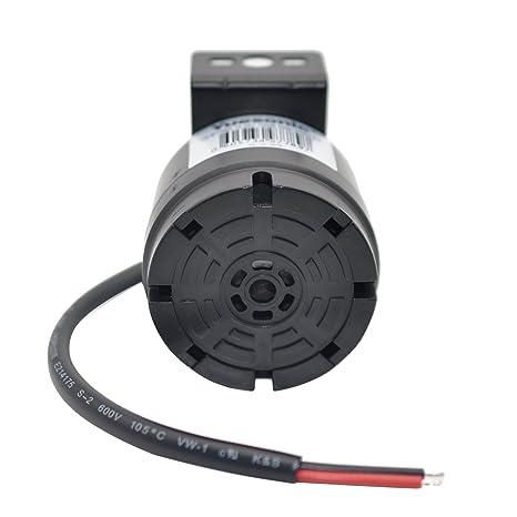 Yuesonic Universal 10-24V 100dB zumbador alarma coche backup alarm