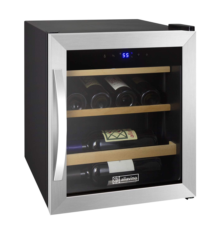 Allavino CDWR15-1SWT Wine Refrigerator, 12 Bottle, Stainless Steel