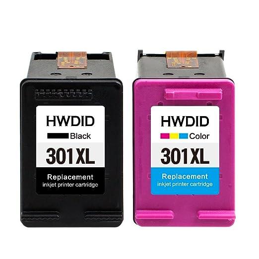 6 opinioni per HWDID 301XL Cartucce d'inchiostro Sostituzione per HP 301 Deskjet 1000 1010 1510