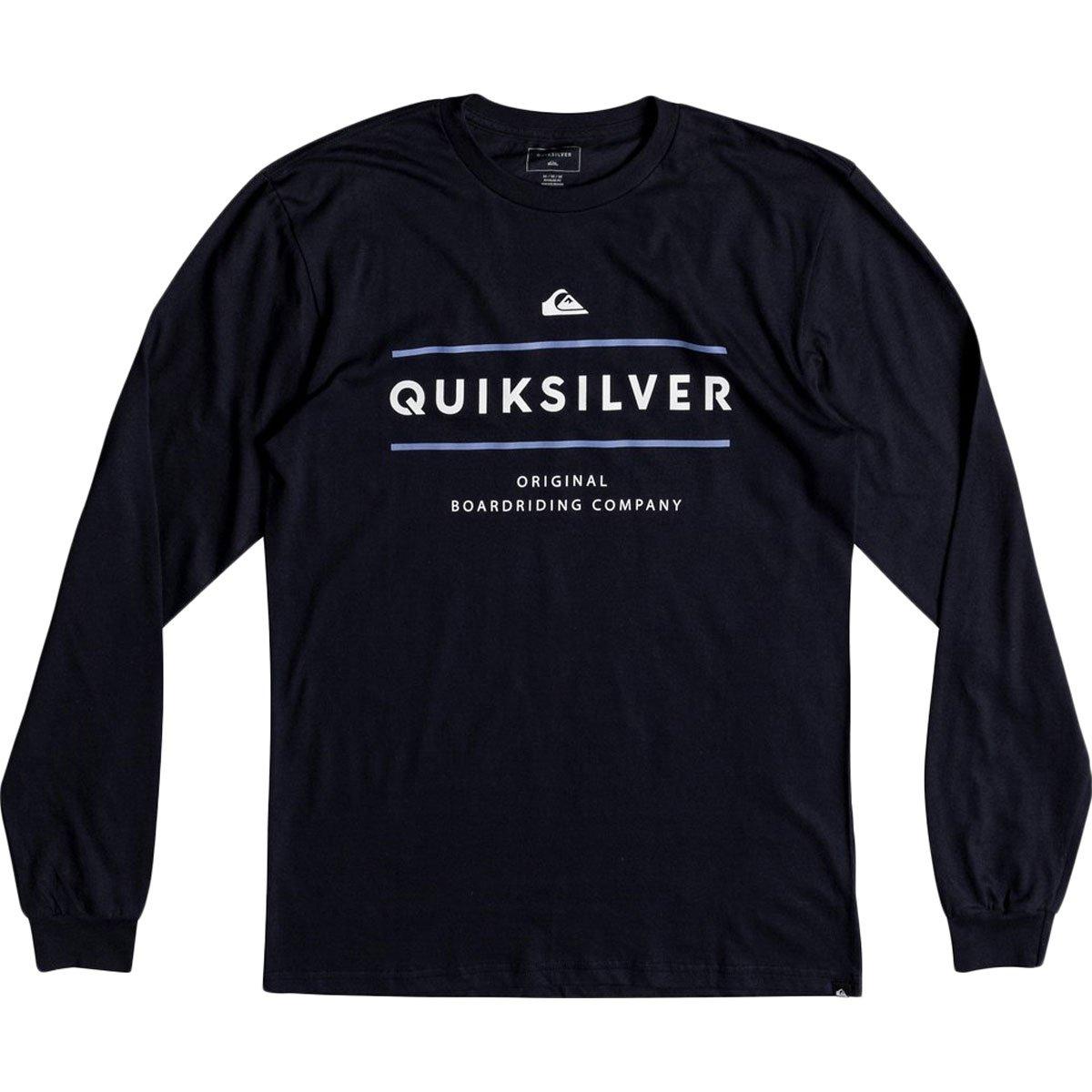Quiksilver Men's Reverso Surfo Tee, Navy Blazer, L