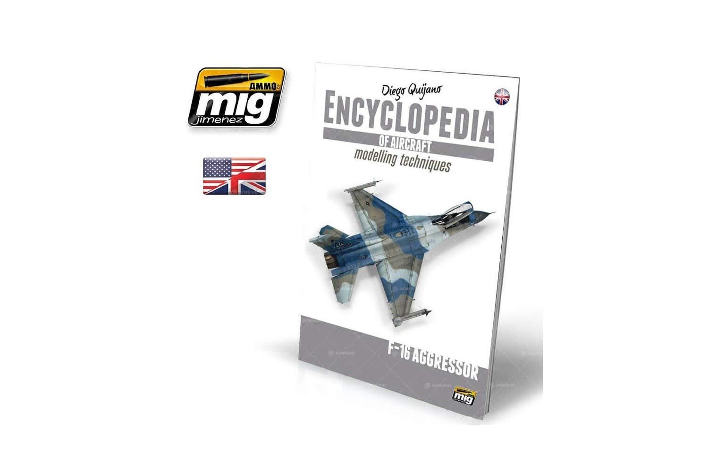 /Vol Mehrfarbig AMMO Munition mig-6055/Enzyklop/ädie Von Flugzeugtypen straffungstechniken/ /F16/Agressor Englisch 6/Extra/