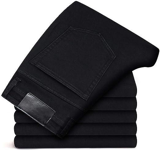 ブラックグレージーンズパンツ男性服弾性スキニージーンズビジネスカジュアル男性デニムスリムパンツクラシック