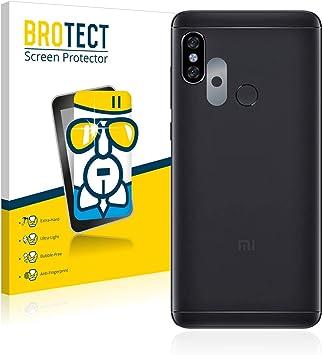 BROTECT Protector Pantalla Cristal Compatible con Xiaomi Redmi Note 5 (Cámara) Protector Pantalla Vidrio Dureza 9H AirGlass: Amazon.es: Electrónica