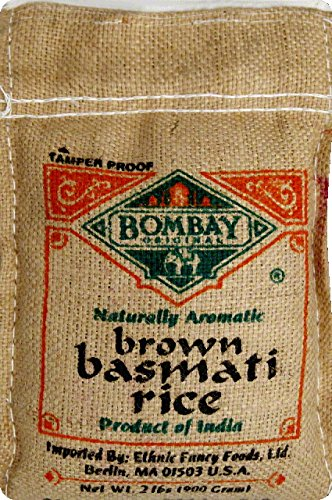 Bombay Basmati Rice Brown, 2lb by Bombay Company