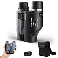 Suncore 10X25 Binocular Telescope FMC Powerful Vision Binocular for Adults Mutil-Target for Game,Concert,Hunting,Hiking