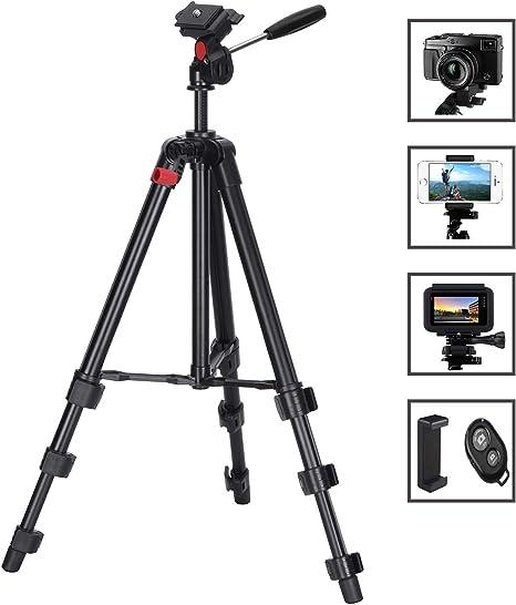 Tiadi - Trípode para cámara (Aluminio, 48