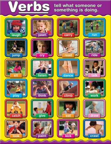 Carson Dellosa Verbs Chart (Carson Dellosa Posters)