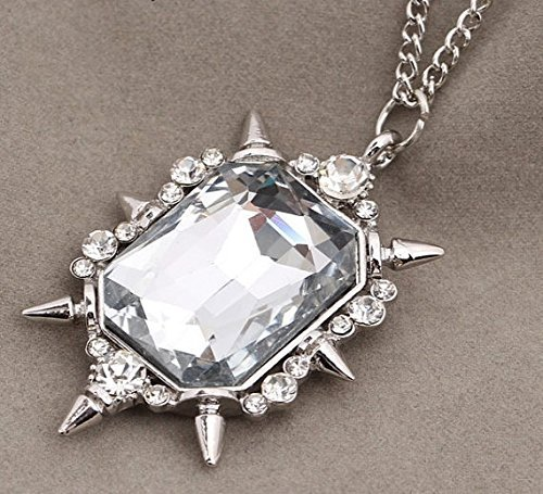 Jewelry tycoon®Zelena or Glinda pendant necklace from Once Upon a Time witch amulet