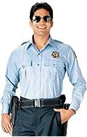 Light Blue Official Security Uniform Long Sleeve Shirt 30010 Size Medium