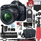 Canon EOS 5D Mark IV 30.4 MP Full Frame CMOS DSLR Camera + EF 24-70mm f/4L IS USM Lens + Accessory Bundle